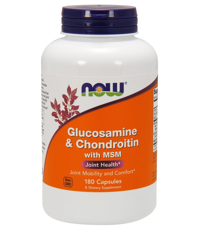 GLUCOSAMINE & CHONDROITIN w/MSM 180VC