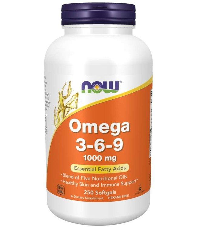 OMEGA 3-6-9 1000MG 250SG