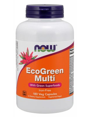 NOW FOODS ECOGREEN MULTI 180 CAPS