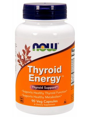 NOW FOODS THYROID ENERGY 90caps