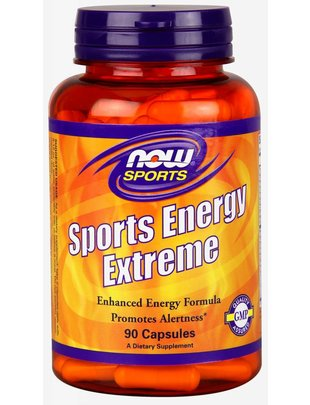 NOW FOODS SPORTS ENERGY EXTREME  90 CAPS