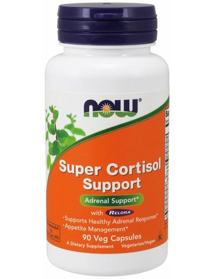 NOW FOODS SUPER CORTISOL SUPPORT  90 VCAPS
