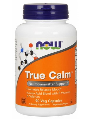 NOW FOODS TRUE CALM AMINO RELAXER   90 VCAPS