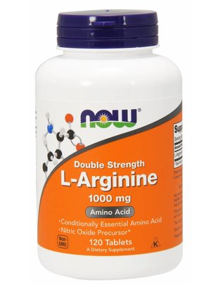 NOW FOODS ARGININE 1000mg 120 TABS