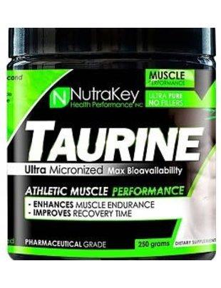 NUTRAKEY TAURINE 250gm