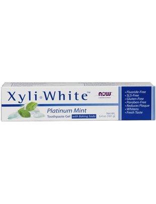 NOW FOODS XYLIWHITE MINT/BAKING SODA TOOTHPASTE 6. 4 OZ