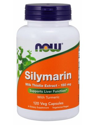 NOW FOODS SILYMARIN W/ MILK THISTLE 150mg 120vcaps