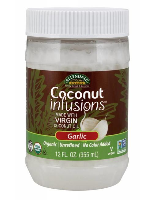 NOW FOODS COCONUT INFUSIONS(TM) GARLIC