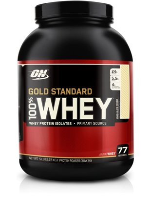 OPTIMUM NUTRITION GOLD STANDARD WHEY 5LBS