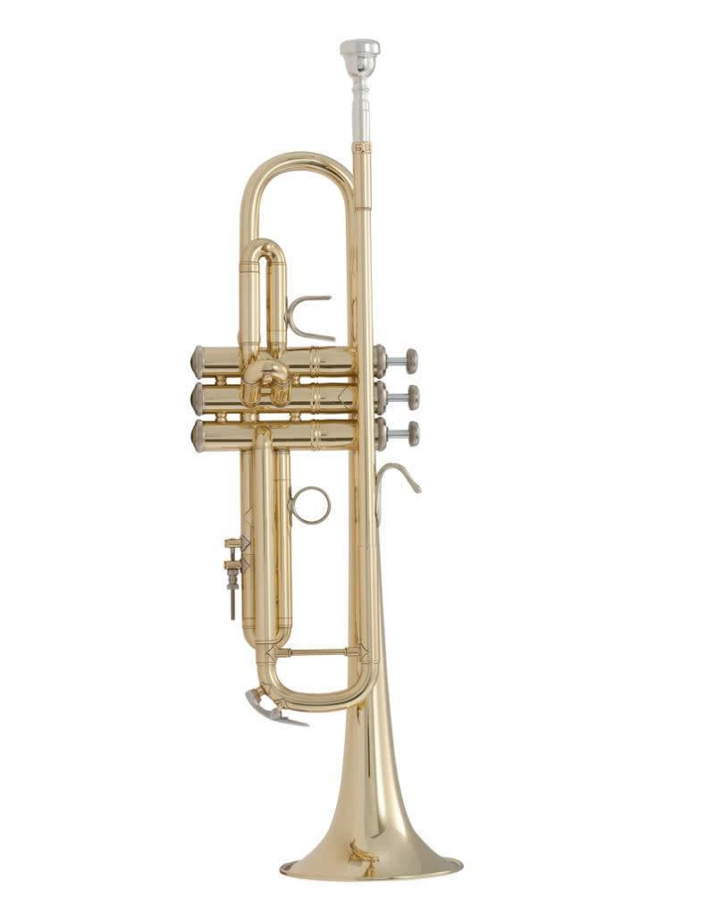 Vincent Bach Vincent Bach Model 37 Reverse Leadpipe Bb Trumpet w/ Gold Brass Bell