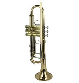 B&S B&S Challenger I Bb Trumpet w/ Gold Brass Bell