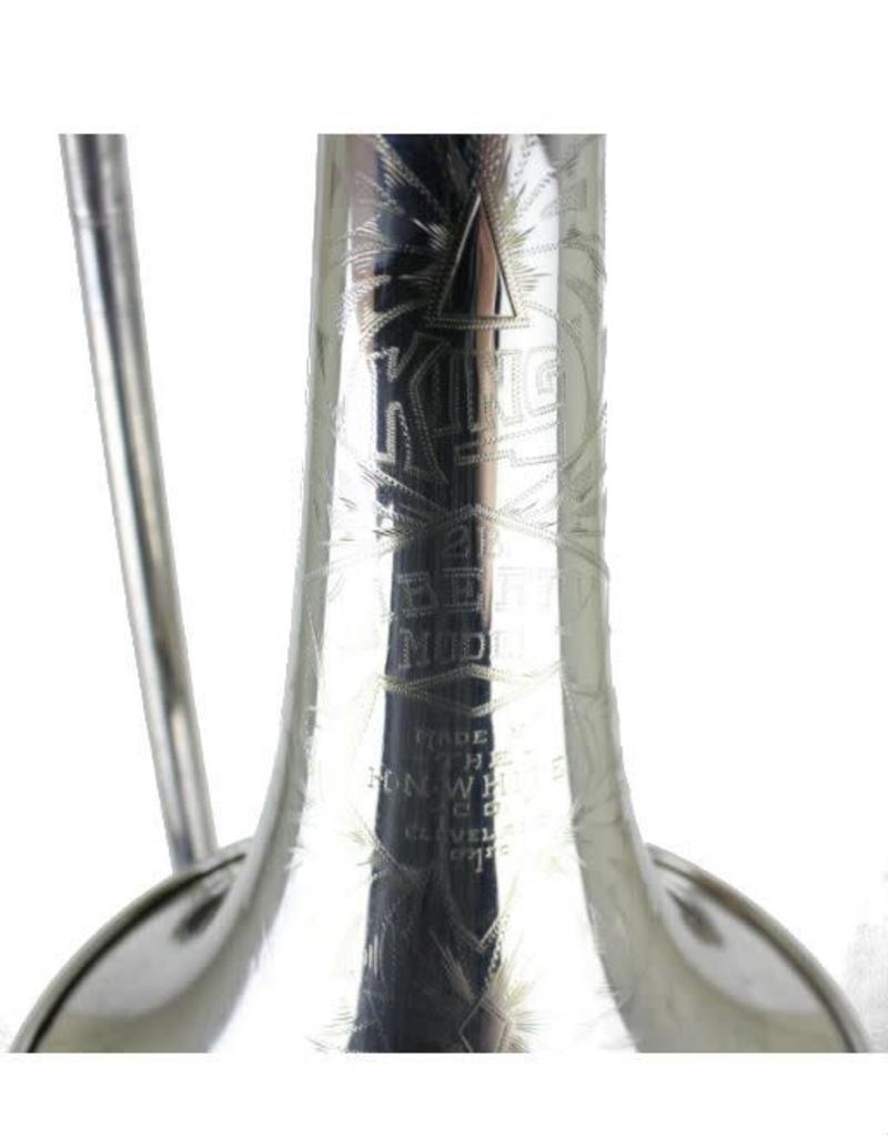 King King 2B 'Liberty Model' Silver plate Tenor Trombone