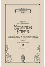 Edition Versilian 24 Staff Orchestration Notation Paper