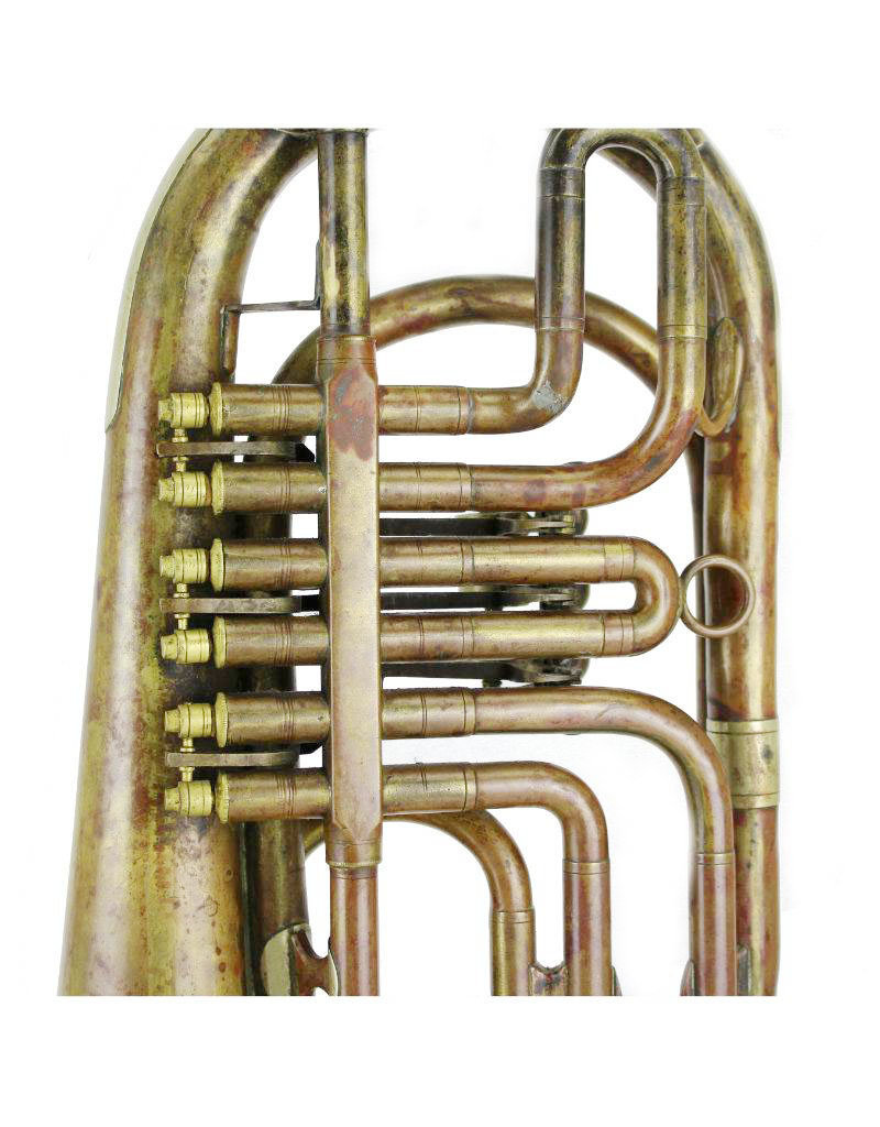 Anonymous Anonymous Bass Trumpet in C, Vienna Valves