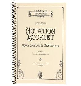 Edition Versilian 8 Staff Notation Booklet
