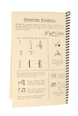 Edition Versilian 8 Staff Notation Booklet
