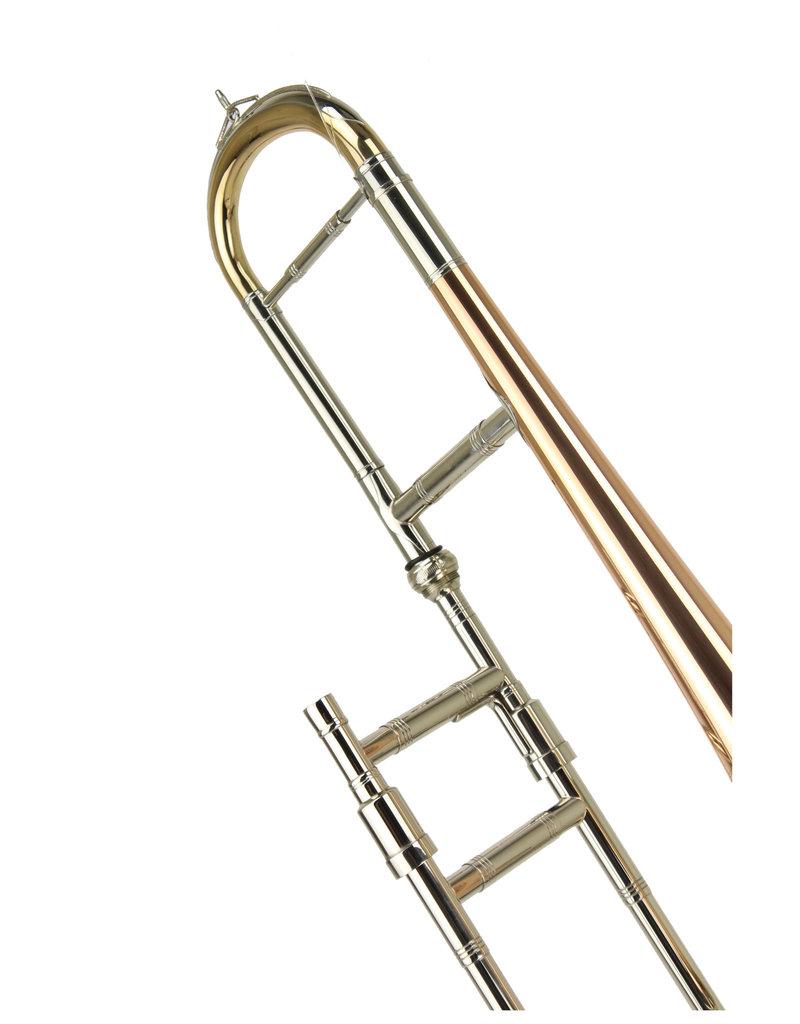 "Jurgen Voigt Jurgen Voigt J- 711 Eb Alto Trombone w/ ""Fire Metal"" Bell"