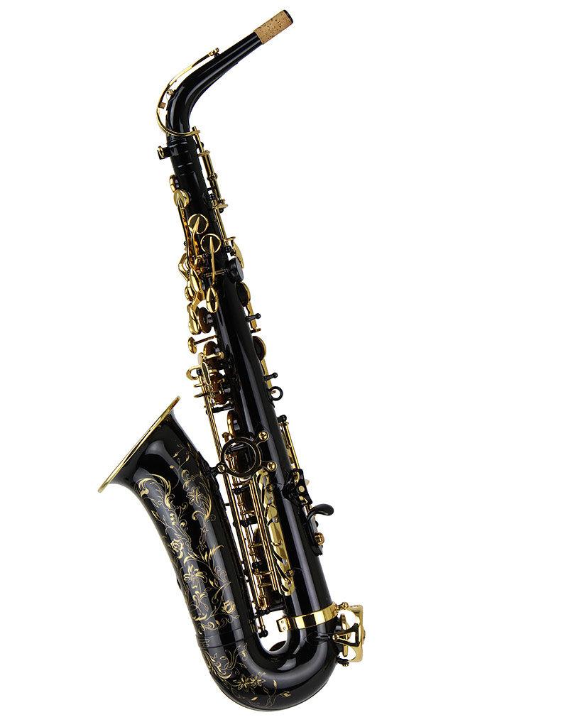 Selmer Selmer Super Action 80  Series II Alto Saxophone in Black Lacquer