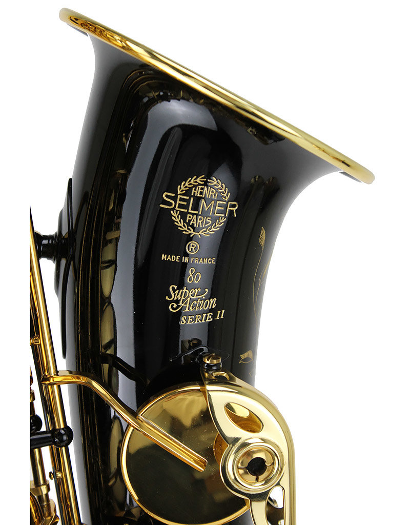 Selmer Selmer Super Action 80  Series II Alto Saxophone in Black Lacquer