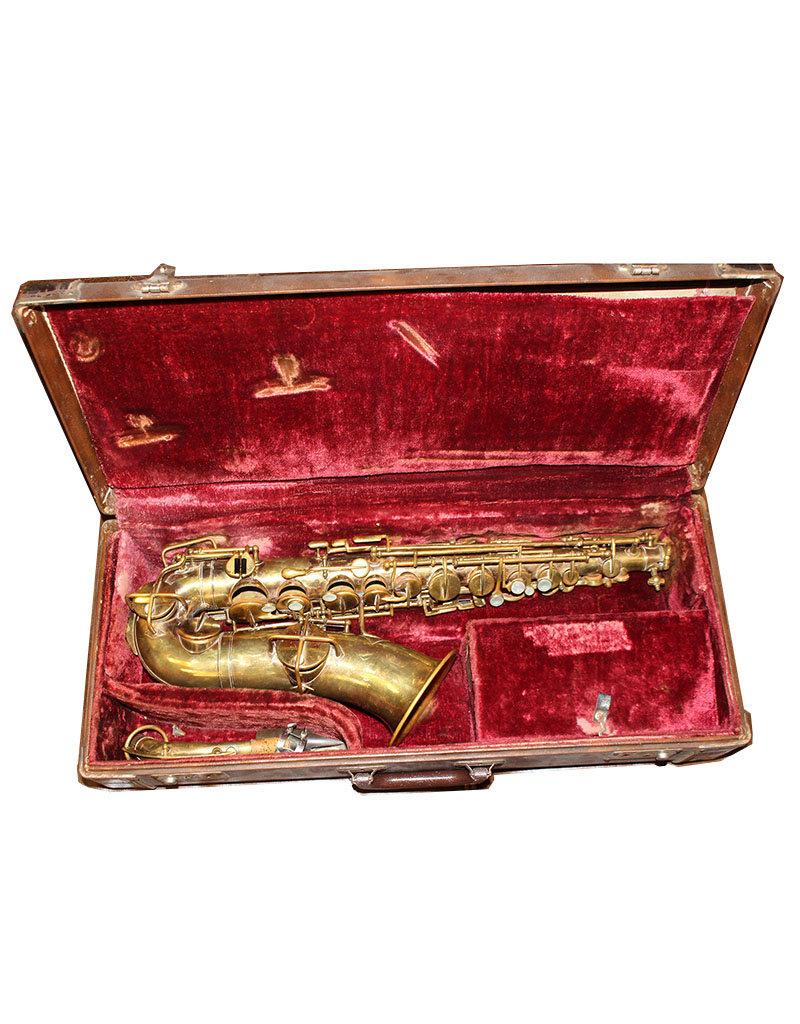 "King King ""New King"" Alto Saxophone ca. 1929"