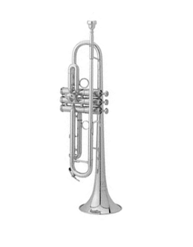 Getzen Getzen 907 Eterna Deluxe Series Silver Plate Bb Trumpet