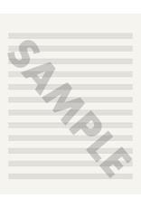 Edition Versilian 12 Staff Music Notation Paper