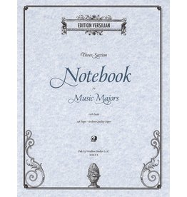 Edition Versilian 3-Subject Notebook for Music Majors