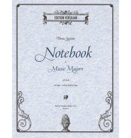 Edition Versilian 3-Subject Notebook for Music Majors