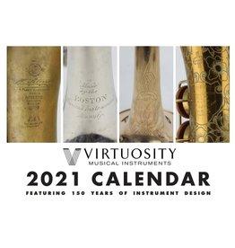 Virtuosity Virtuosity 2021 Calendar