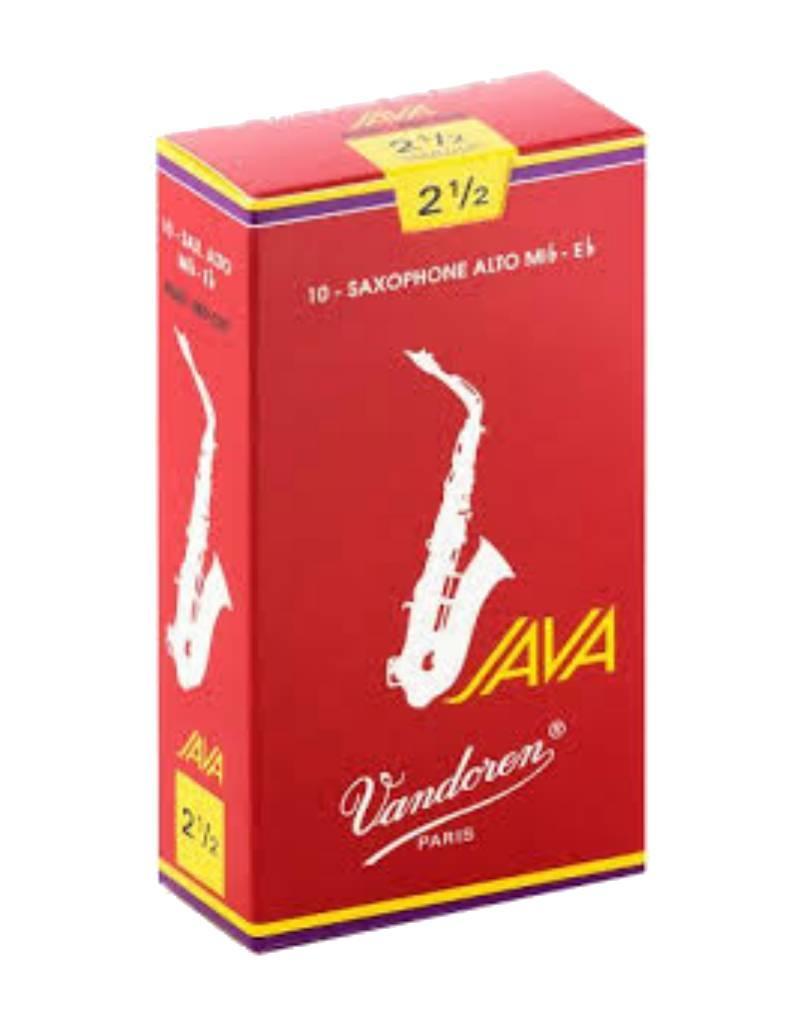 Vandoren Vandoren Red Java Alto Saxophone Reeds