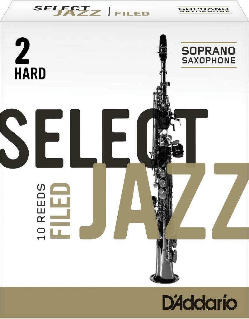 D'Addario D'Addario Select Jazz Filed Soprano Sax Reeds