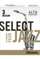 D'Addario D'Addario Select Jazz Filed Alto Sax Reeds