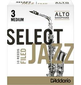 D'Addario D'Addario Select Jazz Filed Alto Sax Reeds