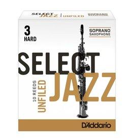 D'Addario D'Addario Select Jazz Unfiled Soprano Sax Reeds