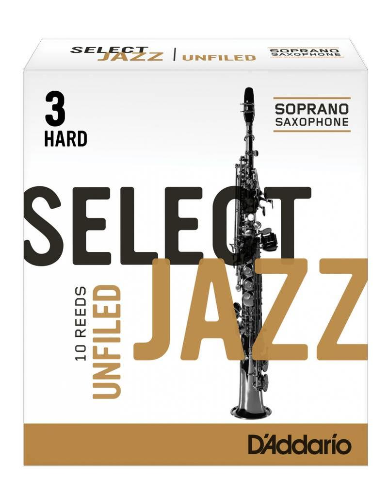 D'Addario D'Addario Select Jazz Unfiled Soprano Sax Reeds