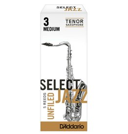 D'Addario D'Addario Select Jazz Unfiled Tenor Sax Reeds