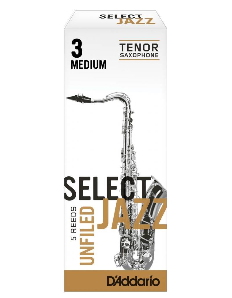 D'Addario D'Addario Select Jazz Unfiled Tenor Sax Reeds