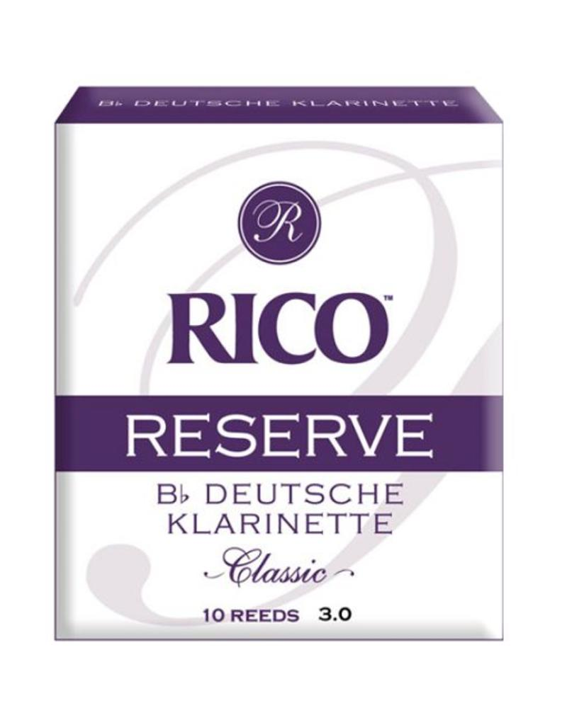 Rico Reserve Rico Reserve German Clarinet Reeds