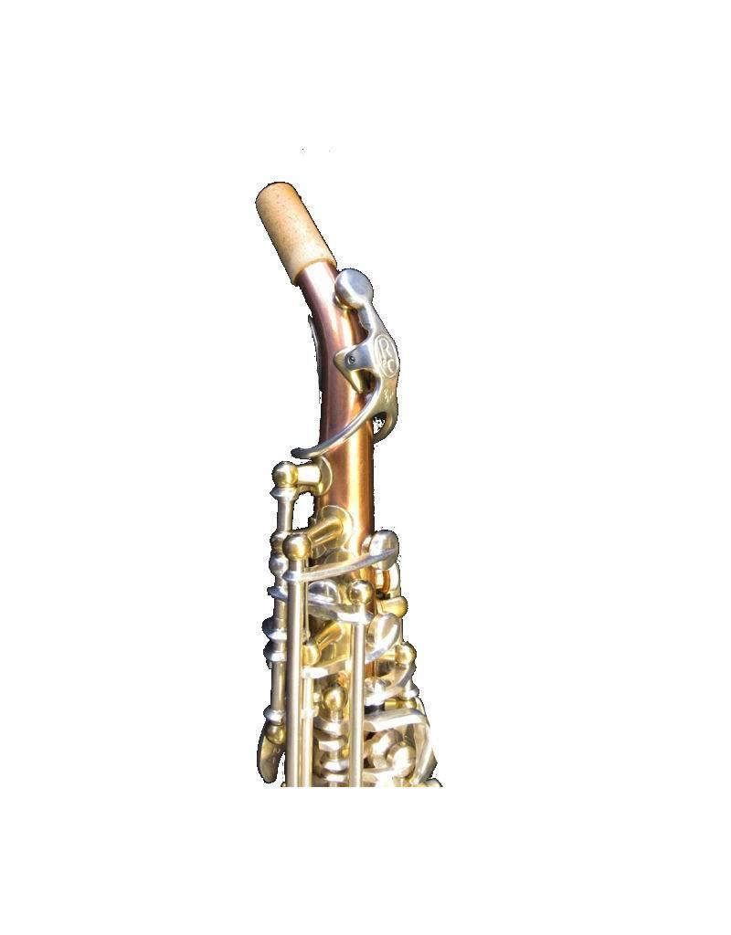 Rampone Rampone and Cazzani Bb Soprano 'Saxello' Copper Body Silver Keys
