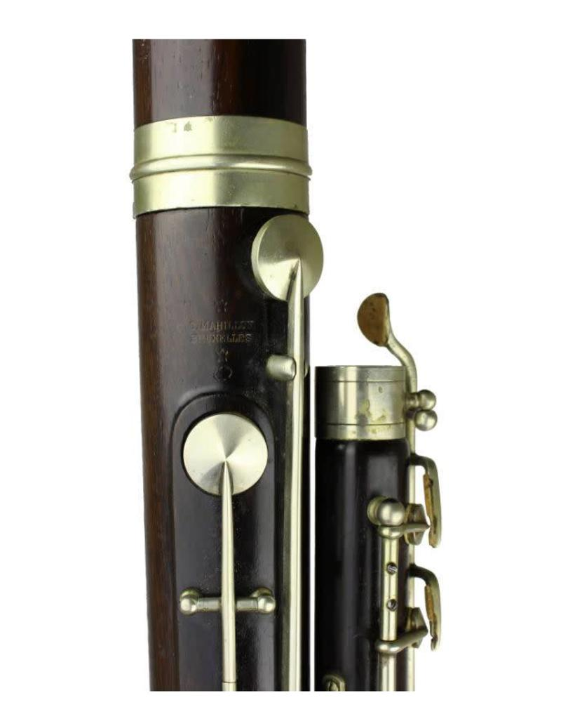 Mahillion Mahillion French System Bassoon, ca. 1880