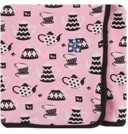 kickee pants teatime print swaddling blanket