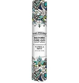 poo-pourri vanilla mint 10mL poo-pourri pocket-sized
