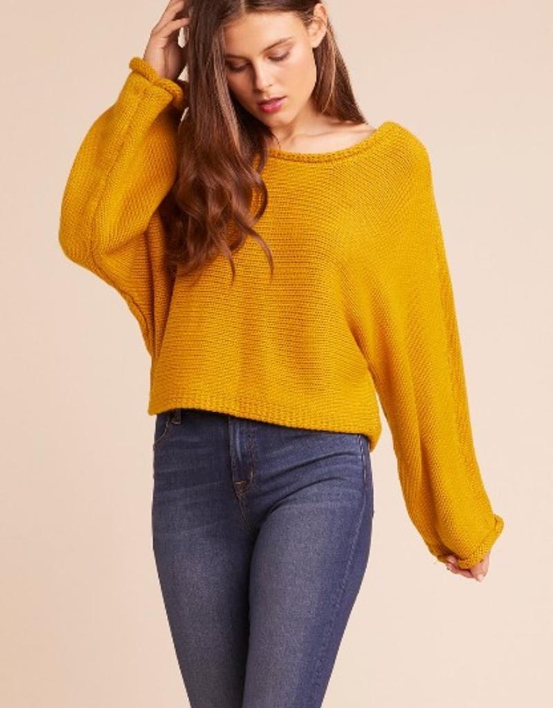 bb dakota bb talk dropped sweater