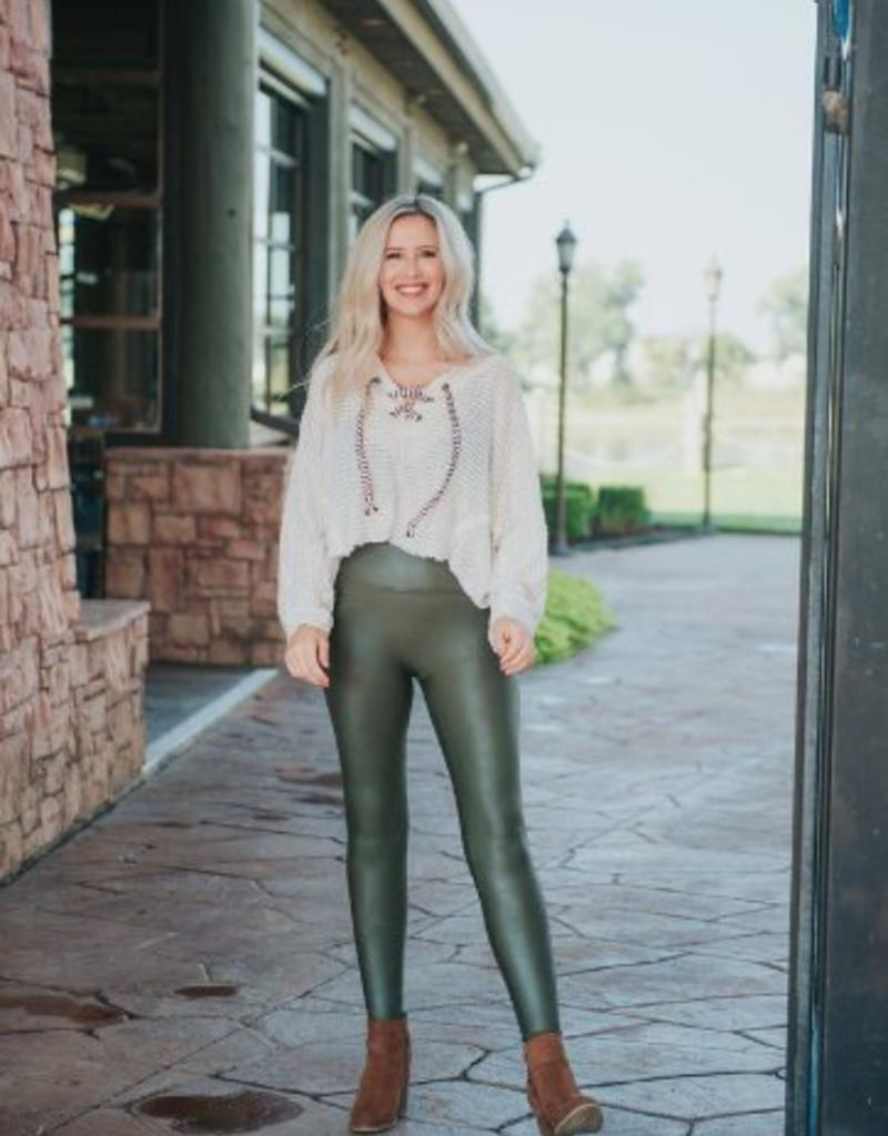 e7c6645a9a140 spanx olive faux leather legging - Stash Apparel and Gifts
