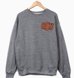 LivyLu OSU Chenille Sweatshirt