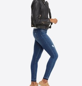 spanx distressed denim
