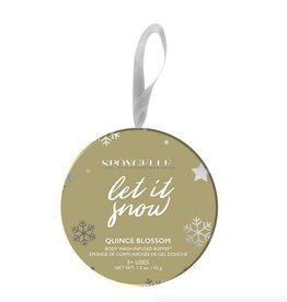spongelle holiday ornament body buffer FINAL SALE