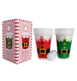 packed party santa party pong set