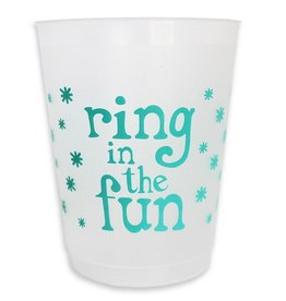 packed party ring in the fun cup stack