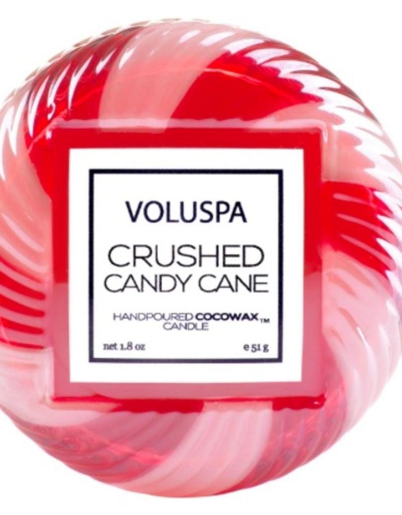 voluspa crushed candy cane macaron candle